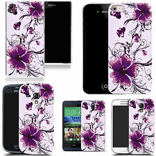 motif case cover for many Mobile phones - calm floral