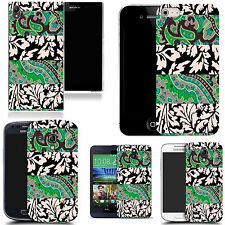 gel case cover for many mobiles  - mixed leaf   silicone