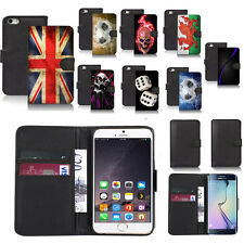 black pu leather wallet case cover for popular mobiles design ref a59