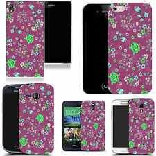 hard case cover for variety of mobiles - purple dendritic
