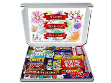 Personalised FAMILY MEMBER Happy Birthday Gift Hamper Dad Nan Aunt Uncle etc
