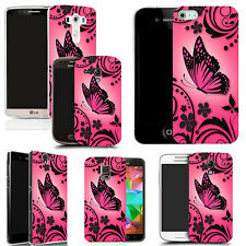 motif case cover for various Popular Mobile phones - pink caress