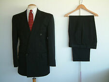 "1940's STYLE SUIT..GOODWOOD..TWIN PLEATS..PTU's..HIGH WAISTED..38""x 36""..DEMOB"