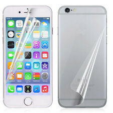 Front+Back clear Protective Screen Protector Film for iPhone 7/7plus