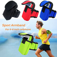 Cycling Sports Running Cell Phone Arm Band bag wrist Pouch Key Package New EF