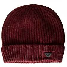 Armani Jeans 934029 Wool Red Beanie Hat