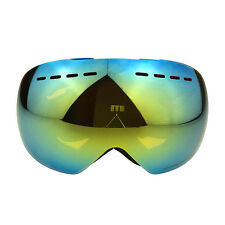 Snow Sports Anti-fog Double Lens UV 400 Wide View Ski Snowboard Skiing Goggles