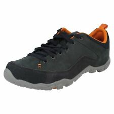 Merrell 'Telluride Lace' Men's Navy Lace Up Suede/Nubuck/Mesh Laced Trainers