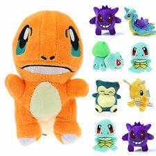 POKEMON Go Squirtle Anime Bulbasaur Lapras Soft Stuffed Plush Toy Doll Kid Gifts