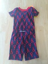NWT Gymboree Boys Gymmies Lobster Shortie Pajamas PJ 12 18 24 2t 3 5 6 10