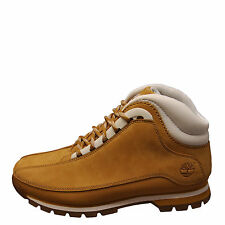 Timberland Euro Dub Wheat White Men's Leather Boots 6004B