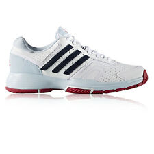 Adidas Barricade Court 2 Womens White Tennis Court Sports Shoes Trainers