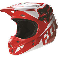 Fox Racing 2016 Youth V1 Race Offroad Helmet - Red