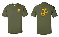 USMC Marines Sergeant T-Shirt with EGA