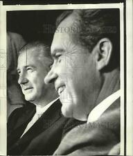 1970 Press Photo President Richard Nixon and Vice President Spiro Agnew