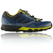 Adidas Terrex Trailmaker Mens Yellow Blue Trail Running Sports Shoes Trainers