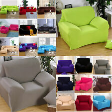 Home Furniture Chair Loveseat Sofa 1 2 3 Couch Stretch Protect Cover Slipcover