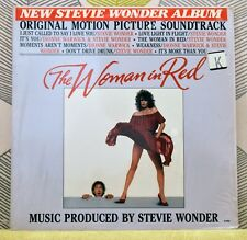 STEVIE WONDER - Woman In Red [Soundtrack] [Vinyl LP,1984] USA Import 6108ML *EXC