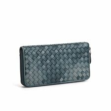 Simple OL Style Sheep Leather Purses Women Casual Clutch Bags Long Wallets