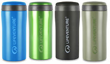 LIFEVENTURE VACUUM INSULATED STAINLESS STEEL THERMAL TRAVEL MUGS 4 COLOURS