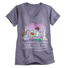 NWT Disney store Women Winnie the Pooh and Friends Tee Shirt Top XS S