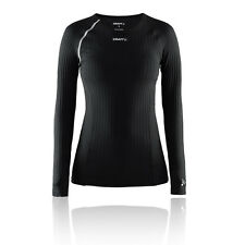 Craft Active Extreme RN Womens Black Running Long Sleeve Crew Neck Sports Top