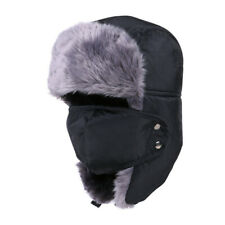 Warm Winter Faux Fur Plush Ear Flap Earmuffs cycling Ski Hat Cap Ear Warmer Mask