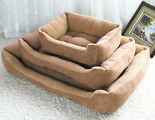 Thick and Luxury Pet Sofa Bed Dog Cushion Bed Puppy Mat Extra Large Big Medium