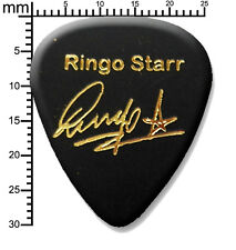 RINGO STARR The Beatles signature stamped plectrum guitar pick Medium
