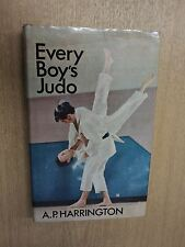 Every Boys Judo by Harrington, A P, Harrington, A P, Stanley Paul