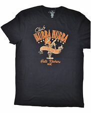 LUCKY BRAND men's T SHIRT Hell's Kitchen NYC Show Girls BLACK Hubba Hubba MEDIUM