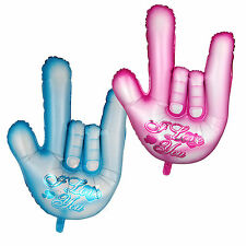"""""""I LOVE YOU"""" Gesture Shape Foil Balloon Birthday Wedding Party Decoration ILY"""