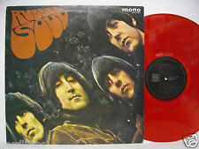 THE BEATLES Rubber Soul JAPAN LP Red Wax MONO EAS-70135