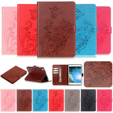 -YPYB Embossing Wallet Leather Case Cover For Apple iPad Air 2 1 Mini 4 3 2 Pro