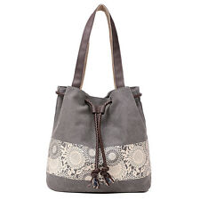 Women Shoulder Bag Satchel Crossbody Tote Handbag Purse Messenger Canvas Fashion