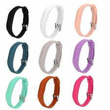 Sports Silicone Wrist Band Metal Buckle Strap Holder For Fitbit Flex 2 Bracelet
