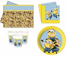 Despicable Me Lovely Minion Birthday Party Napkins Plates Cups Tablecover