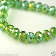 Wholesale Swarovski Crystal Gemstone Loose Beads -Green+AB A13