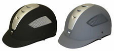 IRH Elite Horse Riding Helmet NEW Black or Grey w/ Silver or Black w/Charcoal