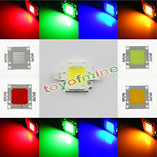 10W 20W 30W 50W 100W High Power SMD COB LED Chip Lamp Bulb Bead Flood Light DIY
