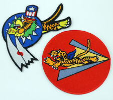 WWII US FLYING TIGER PATCH WWII US COLOR PATCH US AIR FORCE AVG PATCH -0328