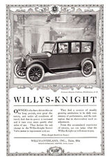 1920 Willys-Knight: Belgian Embassy, Washington DC Print Ad (23936)