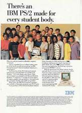 1990 IBM PS/2 Computer: Every Student Body Print Ad (22293)