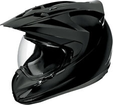 ICON Variant Full Face Motorcycle Helmet Solid Gloss (Black) Choose Size