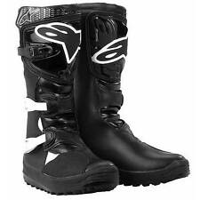 ALPINESTARS No Stop Trials Motorcycle Boots (Black) Choose Size