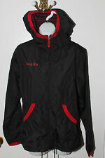 WOMENS NIKITA NATASZA THROTTLE HOODED JACKET STYLE#J52116 BLACK/RED MULTIPLE SZ