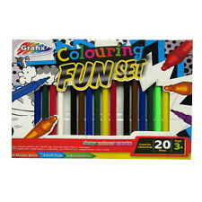 Fun Colouring Packs - Pencils & Felt Tips / Felt Tips, Magic Pens & Brush Pens
