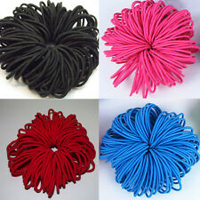 50pcs Elastic Women Excellent Hair Ties Ponytail Holders Head Band Rope Hairband