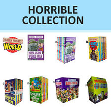 Horrible Collection Books Box Set Horrible Histories ,Horrible Geography  NEW