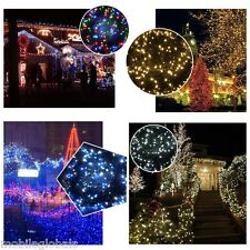 50M 250 LED Christmas Tree Lights Fairy String Indoor/Outdoor Xmas Party Wedding
